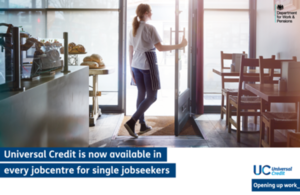 Universal Credit is now available in every jobcentre for single claimants