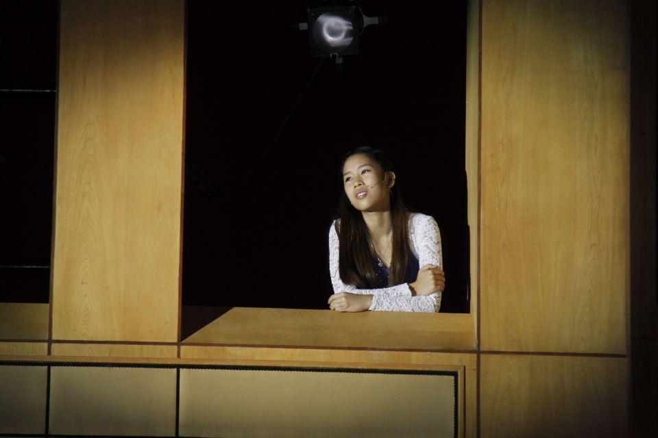 Eden Chiam, as Juliet from Romeo and Juliet.