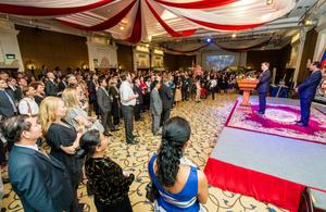 Queen's Birthday Party celebrations in Phnom Penh
