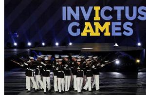 The US Marine Corps Silent Drill Platoon
