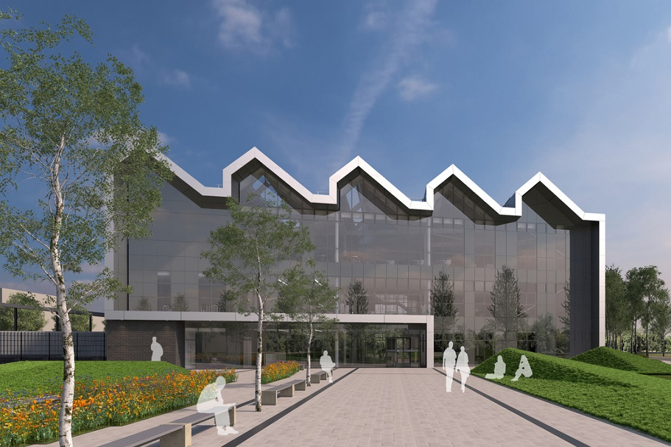 Visuals of the proposed National College for High Speed Rail (NCHSR) At Doncaster.