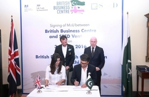 British Business Centre in Pakistan signs MoU with SEED Ventures