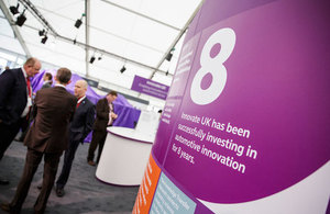 Innovate UK stand