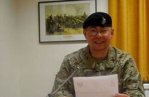 Colonel David Middleton. Picture via MOD. All rights reserved.