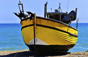 Fishing trawler - Hastings