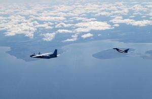 RAF Typhoon. Crown Copyright.