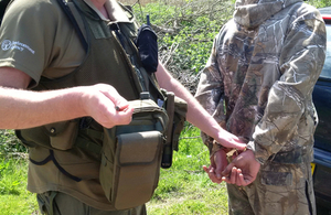 Stoke on Trent angler arrested