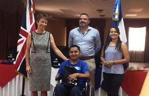 Ambassador Carolyn Davidson in Honduras