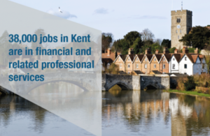38,000 jobs in Kent are in financial and related professional services