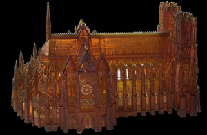 church made with 3D printer