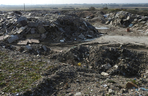 The St Eval waste site