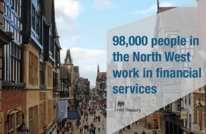 98,000 people in the North West work in financial services