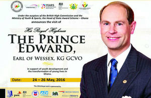 His Royal Highness The Prince Edward