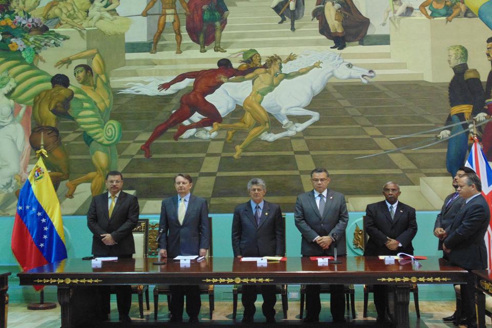 Asamblea Nacional de Venezuela instaló formalmente el Grupo de Amistad Parlamentaria Venezuela - Reino Unido