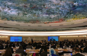 The World Health Assembly takes place at the Palais des Nations in Geneva
