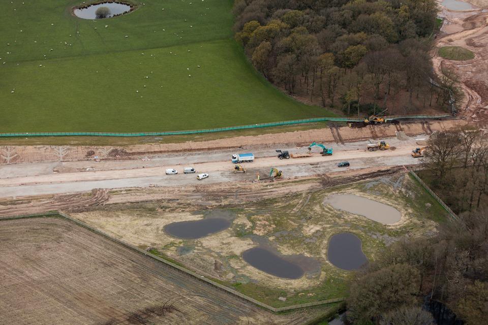 A556 wildlife ponds