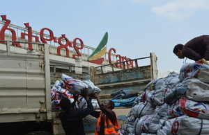 UK Supports the flood response in Ethiopia