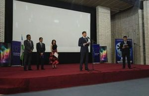 "British Embassy in Tashkent participated at the Festival of European Films in Tashkent with the film ""Macbeth"""