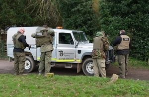 Fisheries enforcement getting ready for a patrol