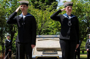 Events across London have been held ahead of the 100th anniversary of the Battle of Jutland