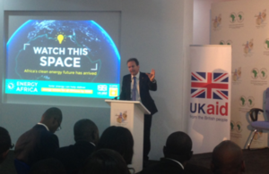 International Development Minister Nick Hurd highlighted the UK's leading role in supporting Africa to increase energy access and respond effectively to climate shocks