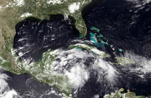 Atlantic hurricane season runs from June to November, and can affect the Caribbean as well as southern and eastern USA and Atlantic Canada.