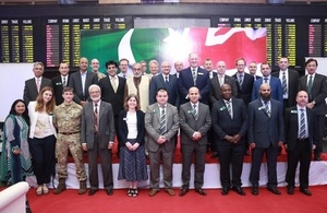 Members of the Royal College of Defence Studies UK visit Karachi