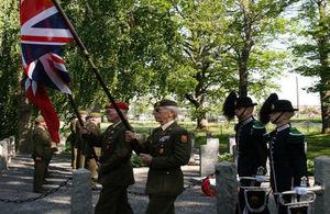 Jutland Memorial service Fredrikstad