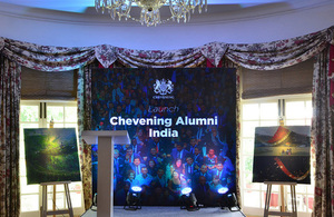 Launch of the Chevening Alumni India Association