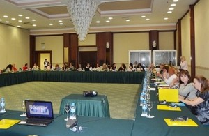 British Defence Section Skopje supports programme on developing National Action Plan for implementation of UNSCR 1325.
