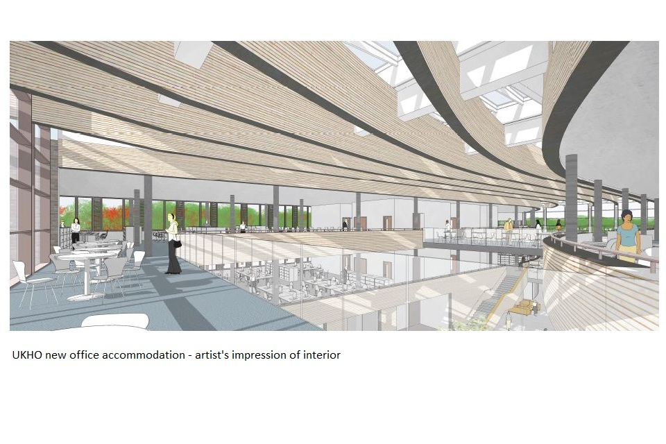 Artist's impression internal view