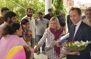 UK's Secretary of State for International Development makes third Pakistan visit