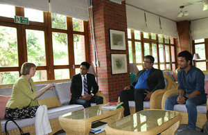 British High Commissioner meets inspiring Bangladeshi young leaders.