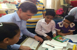 Ambassador John Casson's visit to Asyut