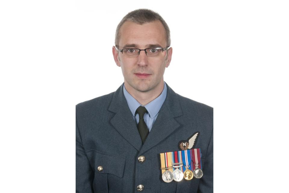 Squadron Leader Samuel Bailey, XV (Reserve) Squadron
