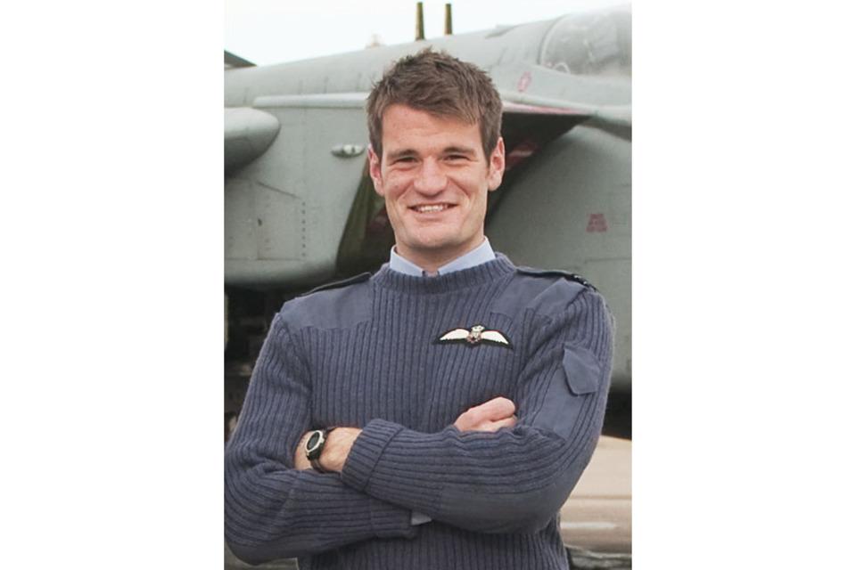 Flight Lieutenant Hywel Poole, XV(Reserve) Squadron