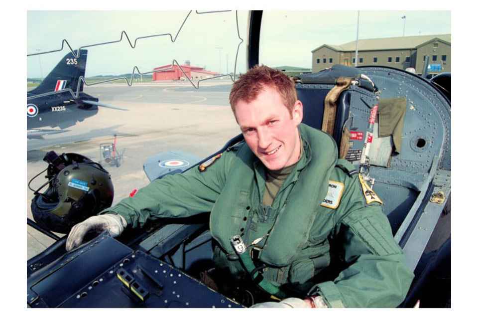 Flight Lieutenant Adam Sanders, XV (Reserve) Squadron