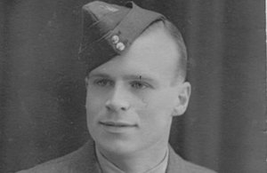 Sgt James Bent RAF. Copyright Cox Family. All rights reserved.