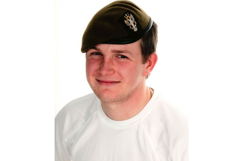 Lance Corporal Alan Cochran (All rights reserved.)