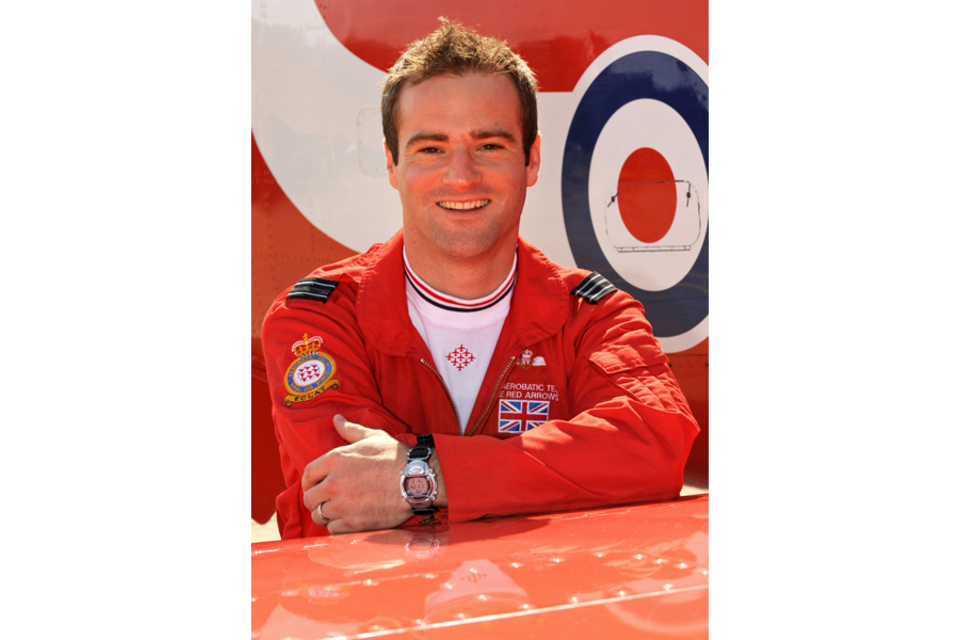 Flight Lieutenant Jon Egging (All rights reserved.)