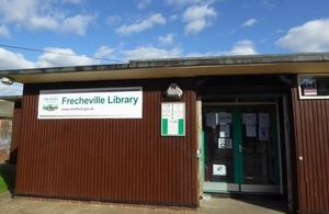 Frecheville community library. Image credit: Julia Chandler/Libraries Taskforce