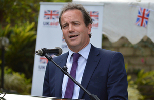 Permanent Under Secretary of State for International Development, Nick Hurd MP