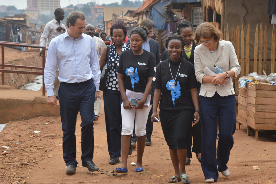 Nick Hurd MP visits Marie Stopes operations in Kampala