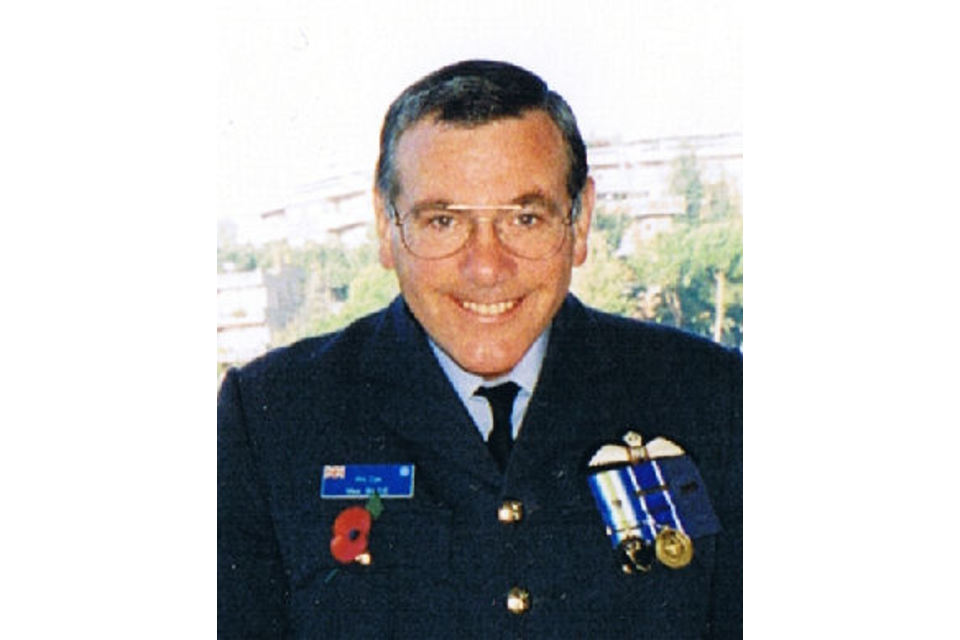 Flight Lieutenant Mike Blee