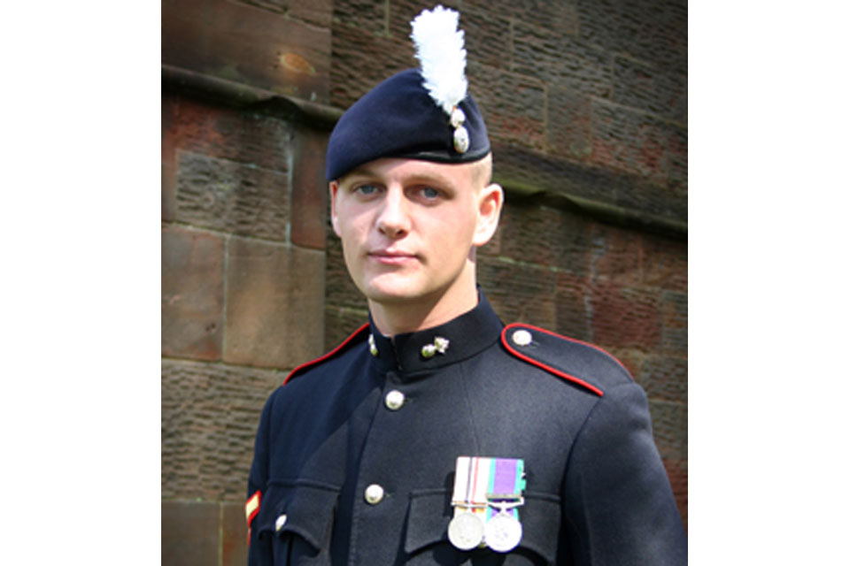 Corporal Michael John Thacker (All rights reserved.)