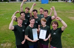 UKAEA win Apprentice team of the year in the Brathay Challenge