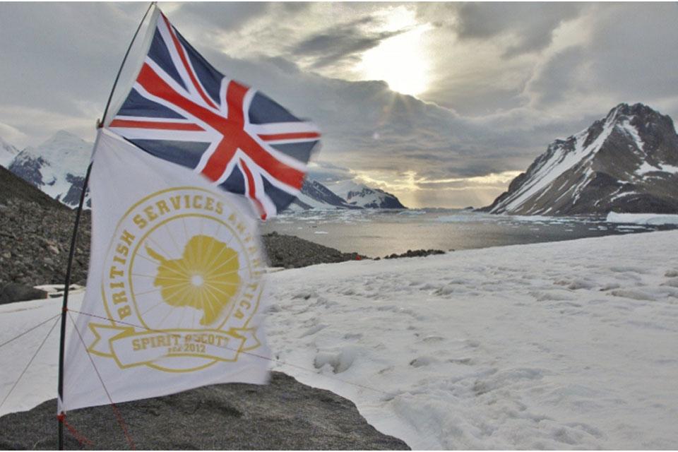 Base camp flagpole