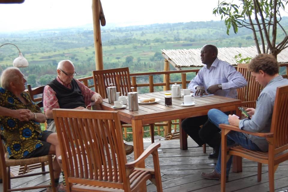 Vice Consul Chris Majugo in Fort Portal
