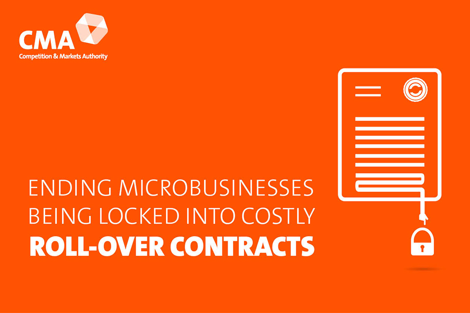 Ending microbusinesses being locked into costly roll-over contracts.