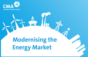 Modernising the energy market illustration